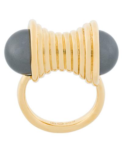 Vergoldetete 'Curiosities' Ring
