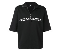 T-Shirt mit Reißverschluss