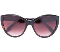 Oversized-Sonnenbrille mit Nieten
