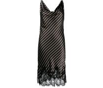 Gestreiftes Camisole-Kleid