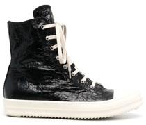High-Top-Sneakers mit Risseffekt