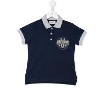 Poloshirt mit Logo-Print - kids - Baumwolle