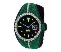 Armband im Kroko-Uhrendesign