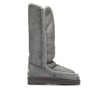 Kniehohe Metallic-Stiefel
