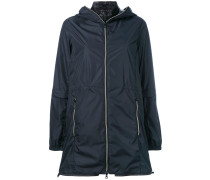 - layered hooded jacket - women