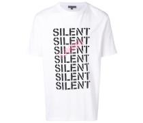 "T-Shirt mit ""Silent""-Print"