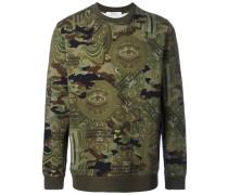 Sweatshirt mit Camouflage-Print