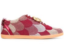 "Florale ""Wave"" Jacquard-Sneakers"