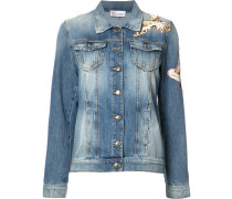 - Jeansjacke mit Vogel-Patches - women