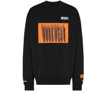"""Sweatshirt mit """"Workwear""""-Print"""