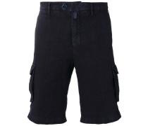 - Cargo-Shorts aus Leinen - men - Leinen/Flachs