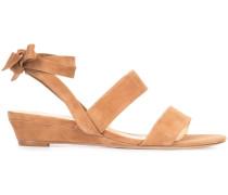 Wedge-Sandalen mit Knöchelriemen - women