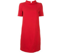 roll neck shift dress