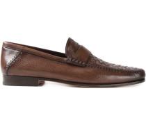 Loafer mit Flechtdetails