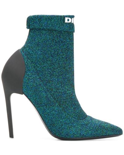 Glitzernde Sock-Boots