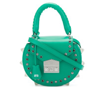 studded mini tote
