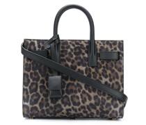 Handtasche mit Leoparden-Muster