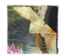 Schal mit Elefanten-Print