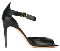 Sandalen mit Pfennigabsatz - women - Leder
