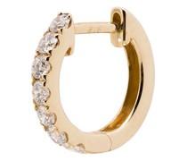 14kt Gelbgoldohrring mit Diamanten
