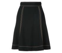 Stitch flare skirt