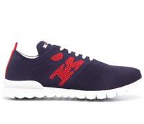 Sneakers mit gestricktem Obermaterial