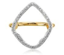 'GP Riva' Ring mit Diamanten
