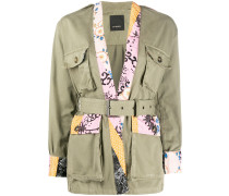 Jacke mit japanischem Muster