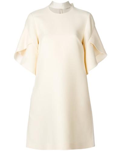 Ausgestelltes Kleid mit Kragendetail