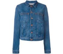 Jeansjacke mit klassischem Kragen
