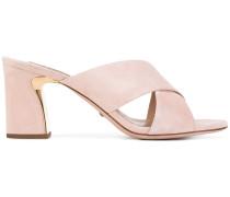 - Sandalen mit überkreuzten Riemen - women