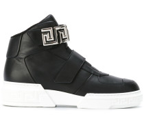 'Greca' High-Top-Sneakers mit Riemen - women