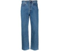 A.P.C. Cropped-Jeans