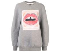 'Painted Lip Jade' Pullover
