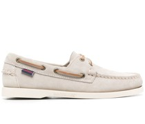 Docksides leather boat shoes