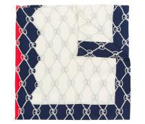 ' Rhombus' Seidenschal mit Print