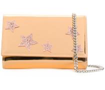 star embellished clutch