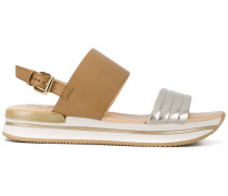 Sandalen mit Schnalle - women - Leder/rubber