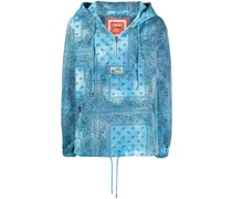 Leichte Jacke mit Bandana-Print