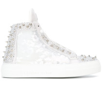 'Angry' High-Top-Sneakers