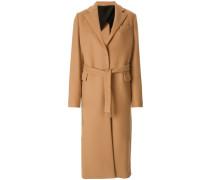 Klassischer Trenchcoat aus Wolle
