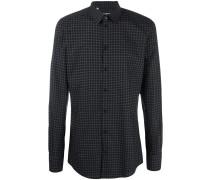 Hemd mit Punkte-Print - men - Baumwolle - 45