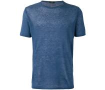 Feingestricktes Leinen-T-Shirt - men