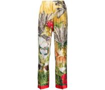 Hose im Pyjama-Stil