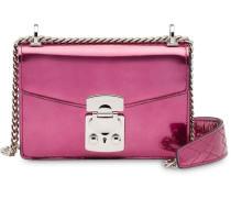 'Miu Confidential' Metallic-Schultertasche