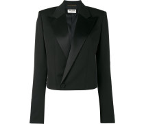 'Iconic Le Smoking '80s Spencer' Cropped-Blazer
