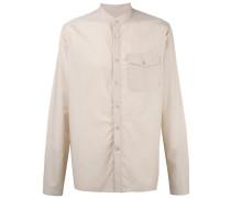 - Hemd mit Stehkragen - men - Baumwolle - L