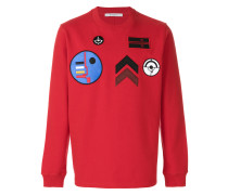 Sweatshirt mit Patches