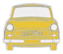 Brosche im Taxi-Design