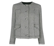 diamond pattern jacket